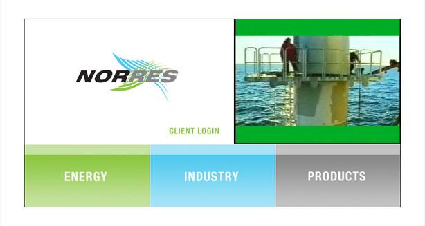 website design for environmental engineering company